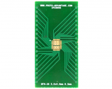QFN-36 to DIP-40 SMT Adapter (0.5 mm pitch, 5.0 x 6.0 body, 3.45x4.57 split pad)