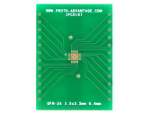 QFN-24 to DIP-28 SMT Adapter (0.4 mm pitch, 3.5 x 3.5 mm body)