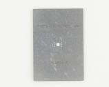 QFN-14 (0.5 mm pitch, 3.5 x 3.5 mm body, 2 x 2 mm pad) Stainless Steel Stencil