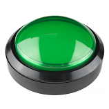 Big Dome Push Button - Green (Economy)
