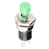 Momentary Button - Panel Mount (Green)