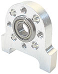 "Ball Bearing - Flanged (1/4"" Bore, 1/2"" OD)"
