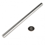"Shaft - Solid (Stainless; 1/2""D x 9""L)"