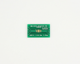 MSOP-8 to DIP-12 SMT Adapter (0.65 mm pitch, 3.0 x 3.0 mm body)