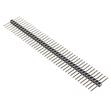 "Header - 40-pin Male (Long Centered, PTH, 0.1"")"