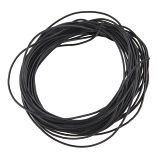 Hook-Up Wire - Silicone 30AWG (Black, 5M)