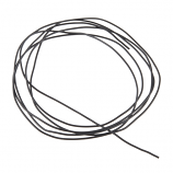 Hook-Up Wire - Silicone 30AWG (Black, 1M)
