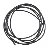 Hook-Up Wire - Silicone 24AWG (Black, 1M)