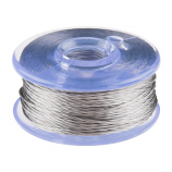 Smooth Thread Bobbin - 12m (Stainless Steel)
