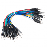 "Jumper Wires Premium 4"" M/M - 20 AWG (30 Pack)"