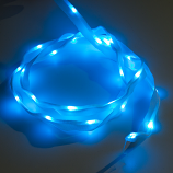 Sewable LED Ribbon - 1m, 25 LEDs (Blue)