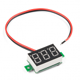 Digital LED Voltmeter