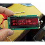 Basic 16x2 Character LCD - Red on Black 5V