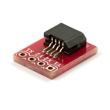 """Color 24-Bit LCD 4.3"""" PSP Touch Screen Connector Breakout"""