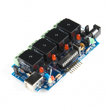 USB Relay Controller with 6-Channel I/O