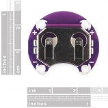 LilyPad Coin Cell Battery Holder