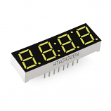 4-Digit 7-Segment Display - White