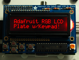 Adafruit RGB Negative 16x2 LCD Keypad Kit for Raspberry Pi