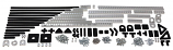 Actobotics Assortment pack - 243 Pieces