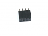 "Header - 2x4-pin Female (PTH, 0.1"")"