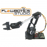 Lynxmotion AL5D 4 Degrees of Freedom Robotic Arm Combo Kit (FlowBotics Studio)