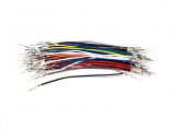 Wires with Pre-crimped Terminals 50-Piece Assortment Male-Male 3""