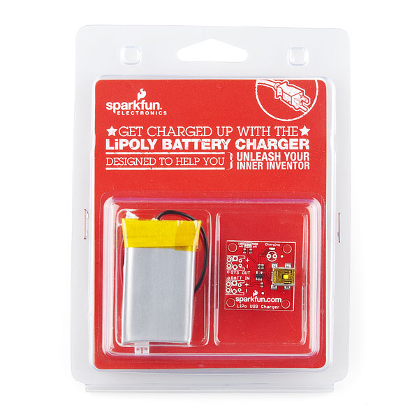 Lithium Polymer USB Charger and Battery