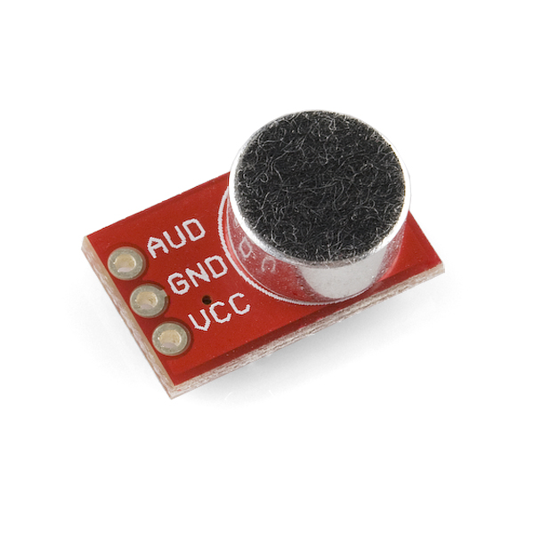 Breakout Board for Electret Microphone