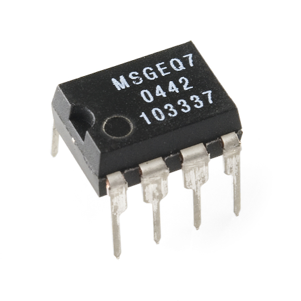 Graphic Equalizer Display Filter - MSGEQ7