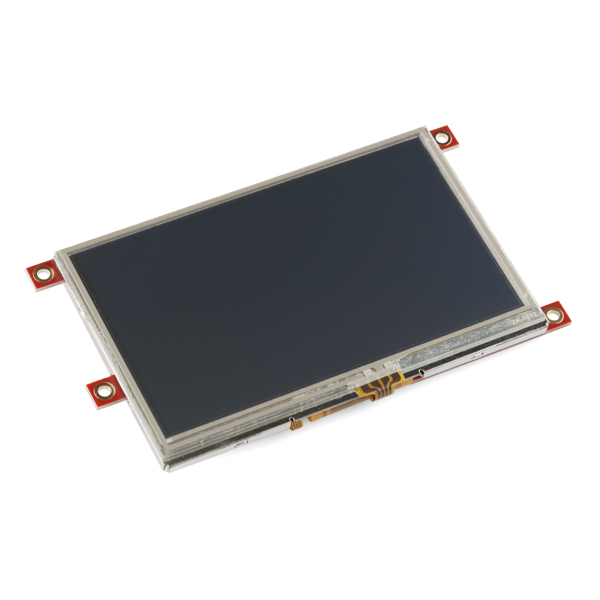 "Serial TFT LCD 4.3"" with Touchscreen - uLCD43"