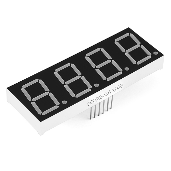 7-Segment Display - 20mm (Red)