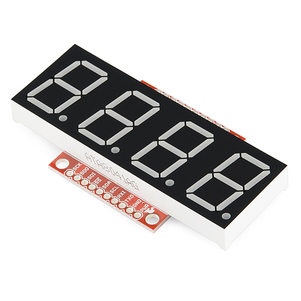 OpenSegment Serial Display - 20mm (Green)