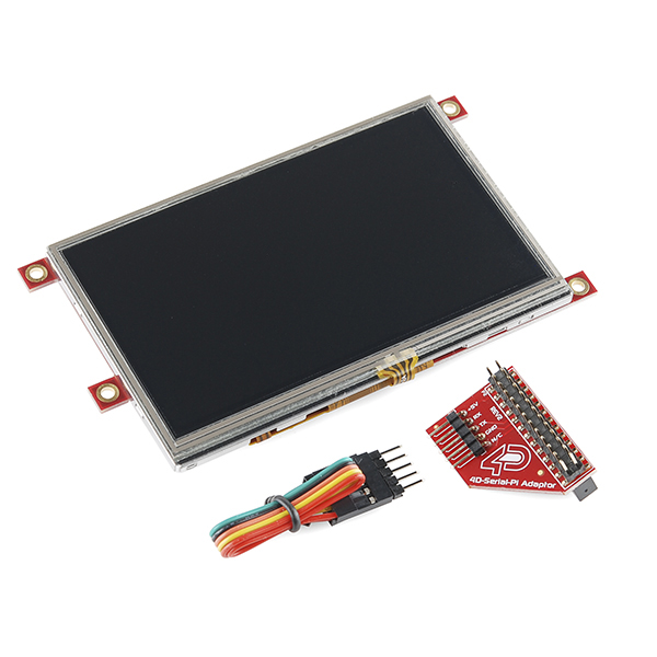 "Raspberry Pi Display Module - 4.3"" Touchscreen LCD"