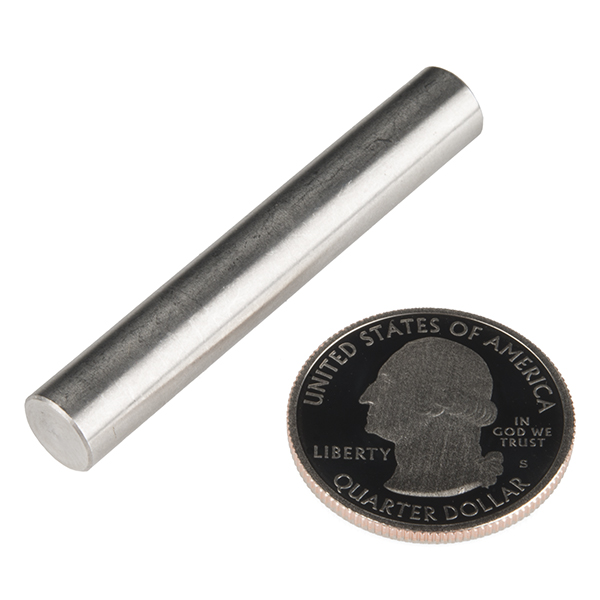 "Shaft - Solid (Stainless; 5/16""D x 2""L)"