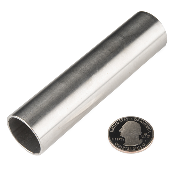 """Tube - Stainless (1""""OD x 4.0""""L x 0.88""""ID)"""