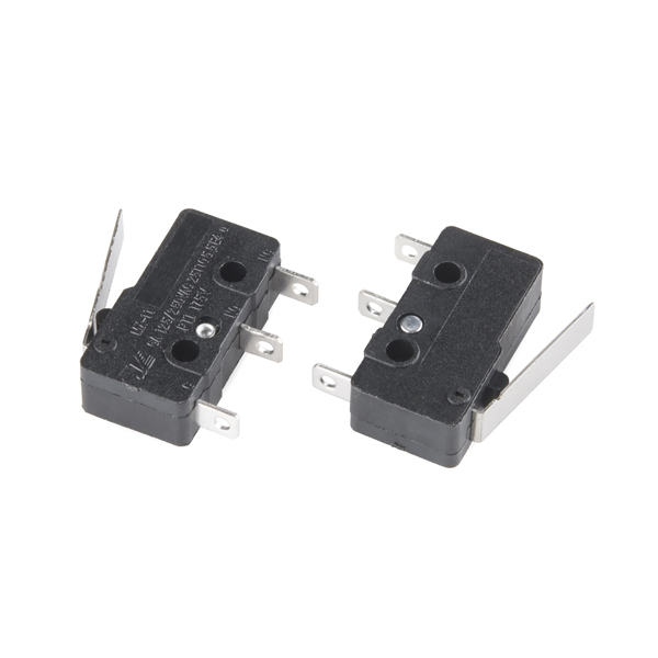 Mini Microswitch - SPDT (Lever, 2-pack)