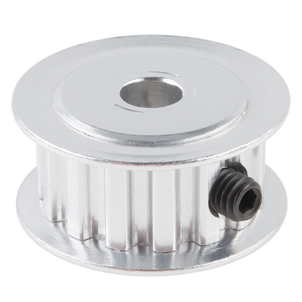 """Timing Pulley - Shaft Mount (15T; 0.25"""" Bore)"""