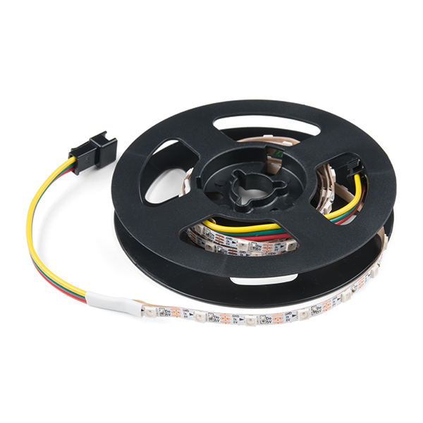 Skinny LED RGBW Strip - Addressable, 1m, 60LEDs (SK6812)
