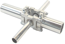 "Bearing Mount - Quad Block (1/2"" Bore)"
