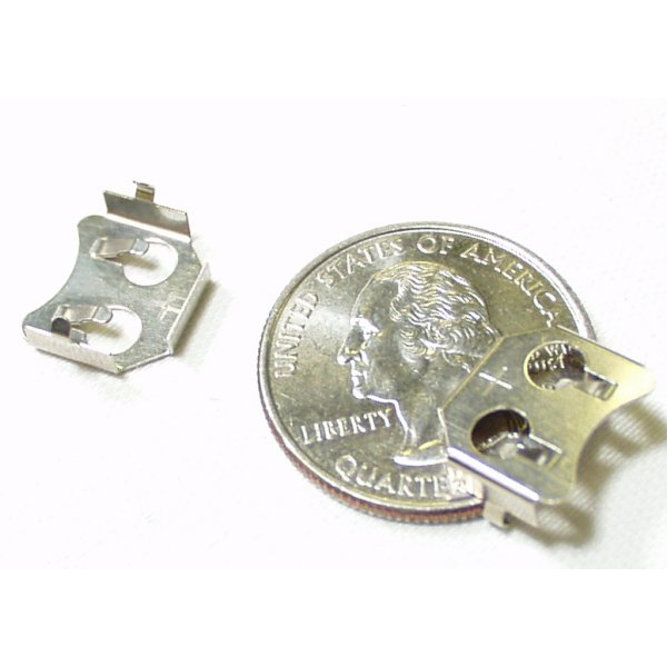 Coin Cell Holder - 12mm