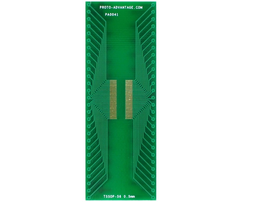 TSSOP-56 to DIP-56 SMT Adapter (0.5 mm pitch)