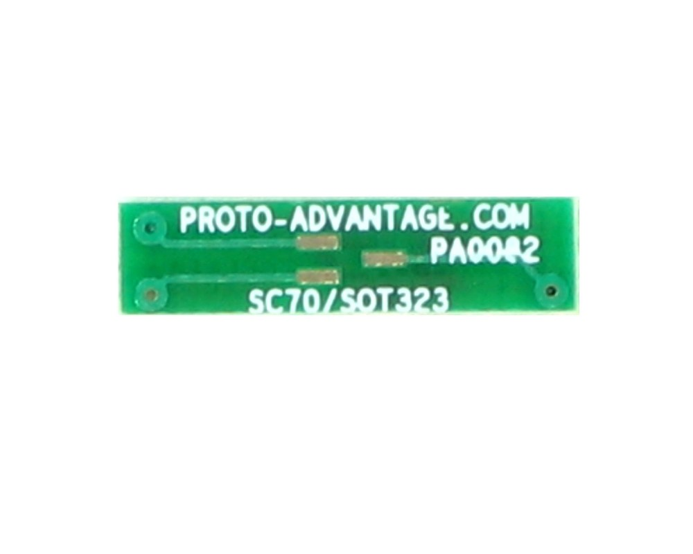 SOT323 to DIP-4 SMT Adapter (0.65 mm pitch)