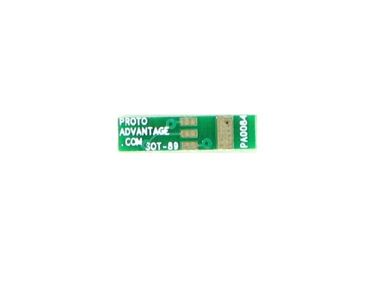 SOT-89 to DIP-4 SMT Adapter (1.5 mm pitch)