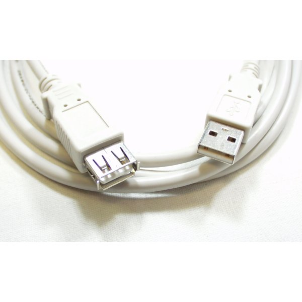 USB Cable Extension - 6 Foot